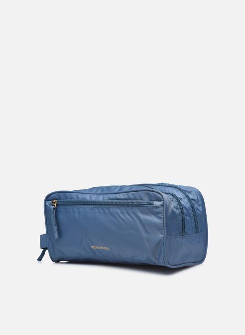 Bagagli Bensimon Toiletry bag Azzurro modello indossato