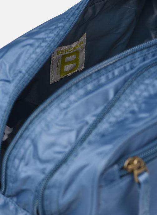 Bagagli Bensimon Toiletry bag Azzurro immagine posteriore
