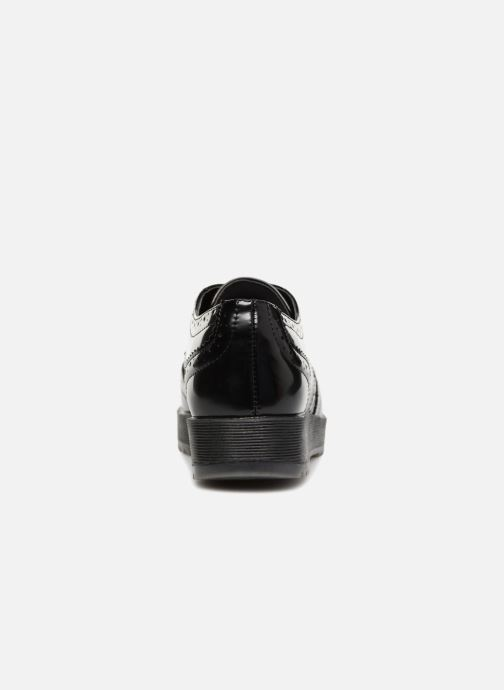 Lace-up shoes Fresas by Conguitos Lora Black view from the right