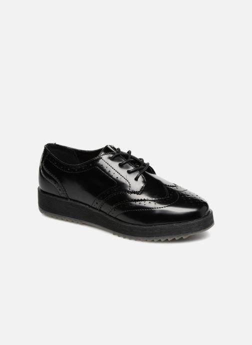 Chaussures à lacets Fresas by Conguitos Lora Noir vue détail/paire