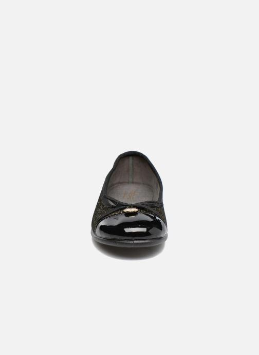 Ballerines Fresas by Conguitos Chiara Or et bronze vue portées chaussures