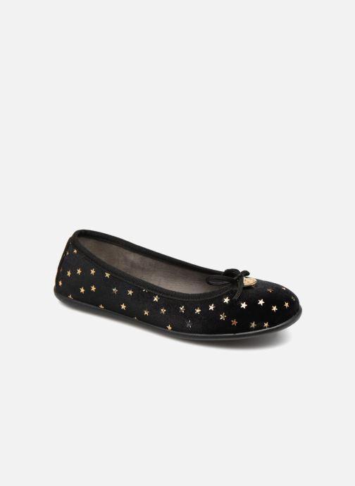 Ballerinaer Fresas by Conguitos Flora Sort detaljeret billede af skoene