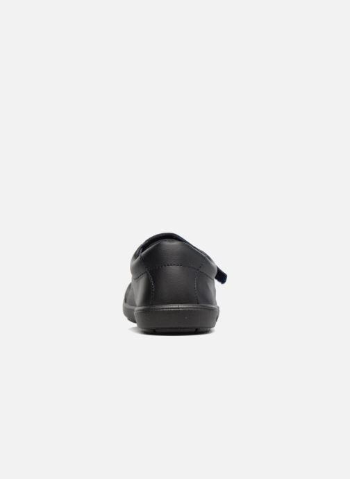 Chaussures à scratch Conguitos Nino Noir vue droite