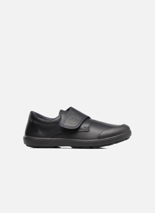 Chaussures à scratch Conguitos Nino Noir vue derrière