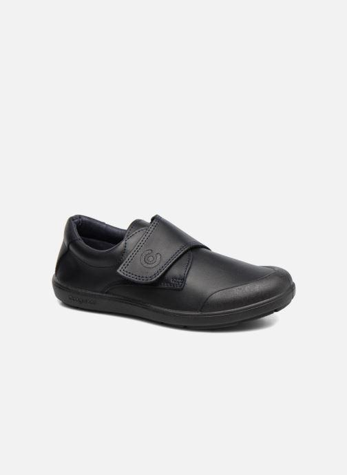 Chaussures à scratch Conguitos Nino Noir vue détail/paire