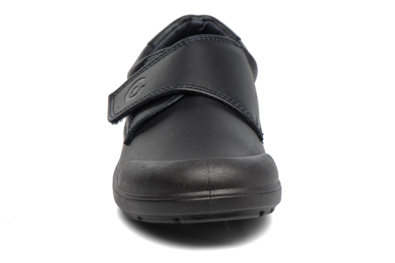 Chaussures à scratch Conguitos Nino Noir vue portées chaussures