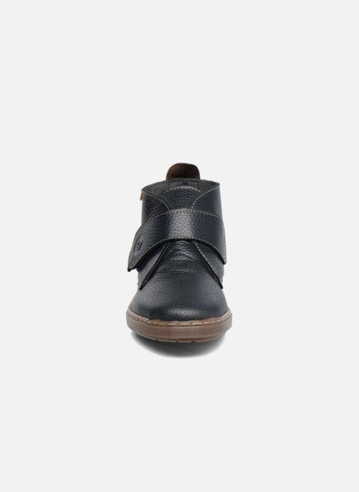 Chaussures à scratch Conguitos Juan Bleu vue portées chaussures