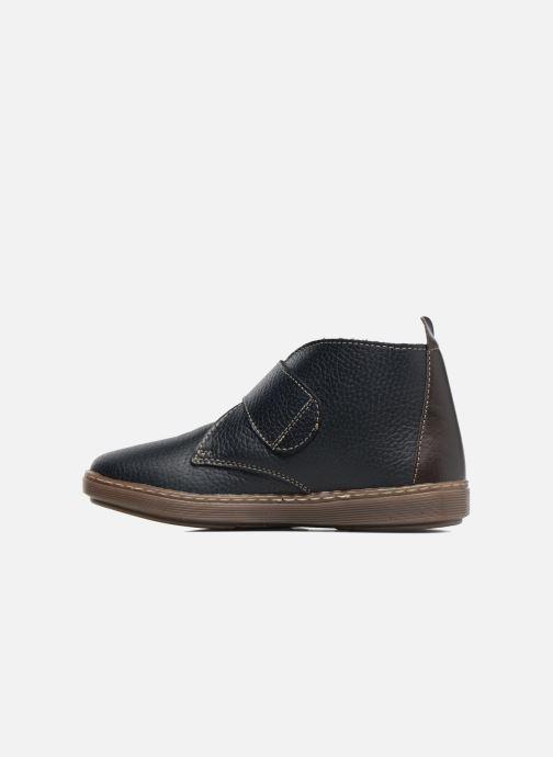 Velcro shoes Conguitos Juan Blue front view