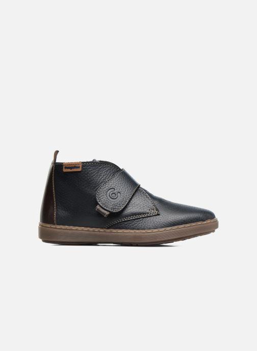 Velcro shoes Conguitos Juan Blue back view