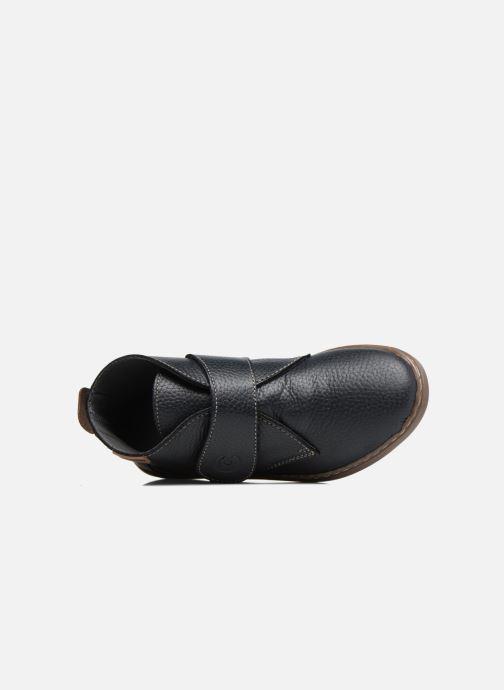 Chaussures à scratch Conguitos Juan Bleu vue gauche