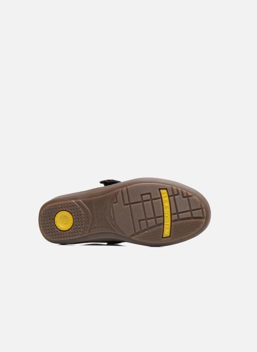 Chaussures à scratch Conguitos Juan Bleu vue haut