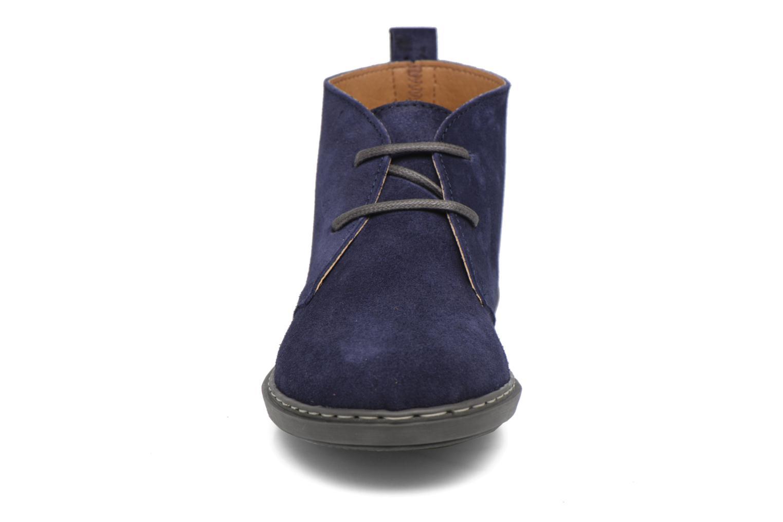 Chaussures à lacets Conguitos Ugo Bleu vue portées chaussures