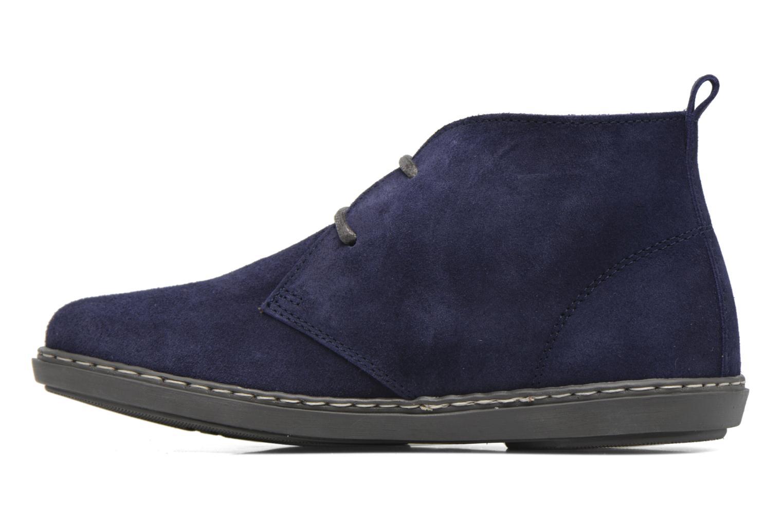 Chaussures à lacets Conguitos Ugo Bleu vue face