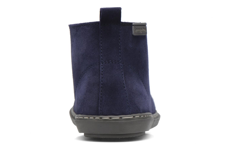 Chaussures à lacets Conguitos Ugo Bleu vue droite