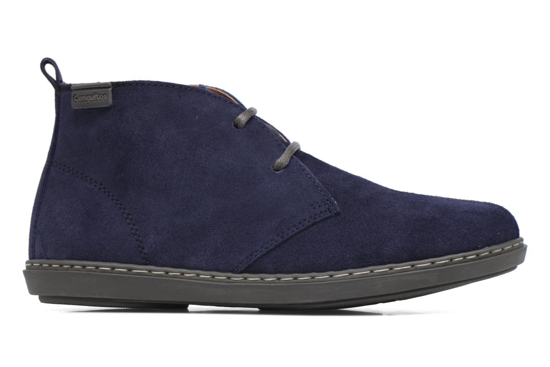 Chaussures à lacets Conguitos Ugo Bleu vue derrière