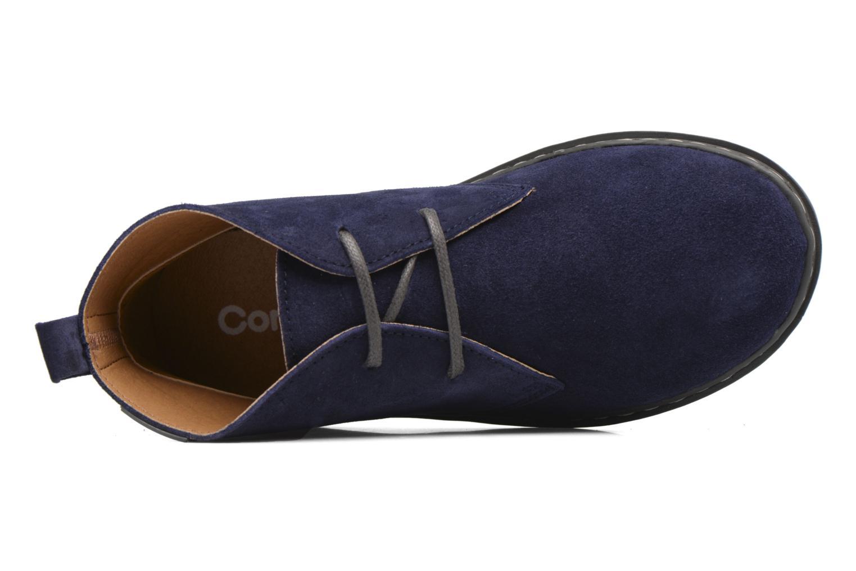 Chaussures à lacets Conguitos Ugo Bleu vue gauche