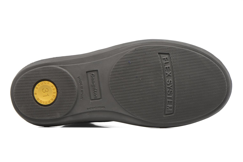Chaussures à lacets Conguitos Ugo Bleu vue haut