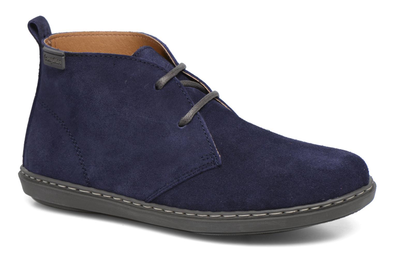 Chaussures à lacets Conguitos Ugo Bleu vue détail/paire