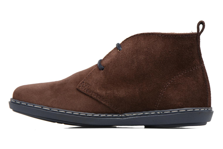 Chaussures à lacets Conguitos Ugo Marron vue face