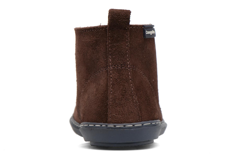 Chaussures à lacets Conguitos Ugo Marron vue droite