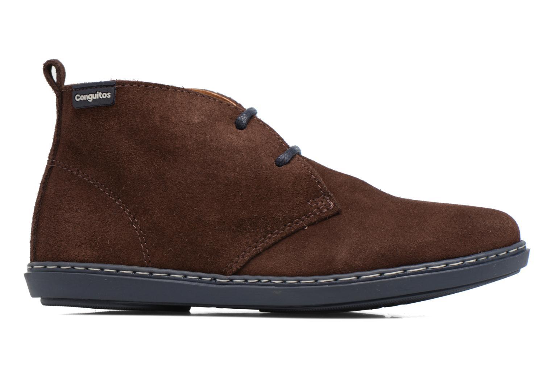 Chaussures à lacets Conguitos Ugo Marron vue derrière