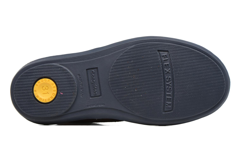 Chaussures à lacets Conguitos Ugo Marron vue haut