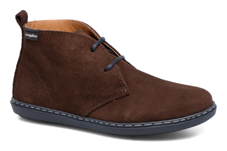 Chaussures à lacets Conguitos Ugo Marron vue détail/paire
