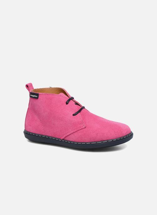 Chaussures à lacets Conguitos Lila Rose vue détail/paire