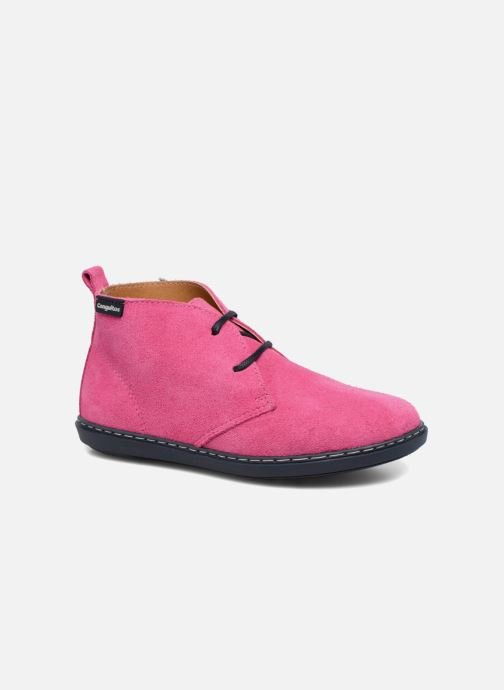 Lace-up shoes Conguitos Lila Pink detailed view/ Pair view