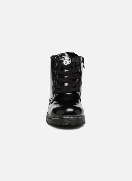 Bottines et boots Conguitos Maria Noir vue portées chaussures