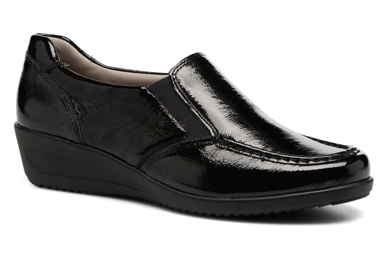 Loafers Ara Zürich 40638 Black detailed view/ Pair view
