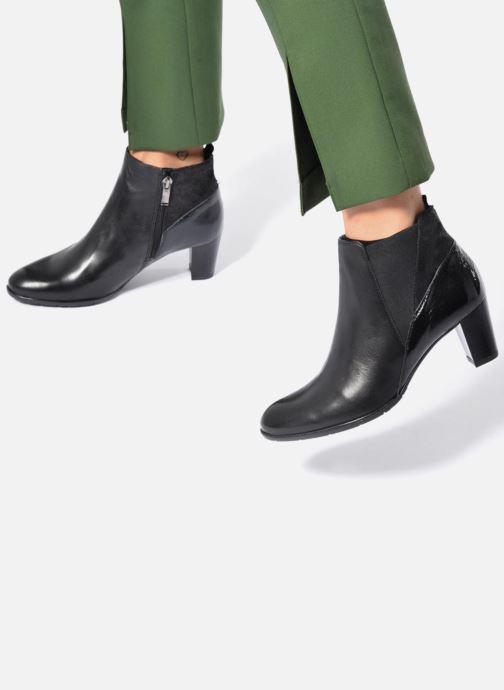 Bottines et boots Ara Toulouse ST 43449 Noir vue bas / vue portée sac