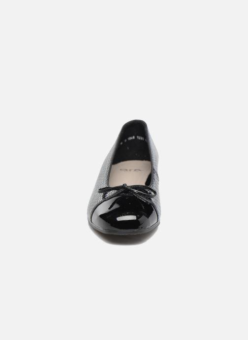 Ballerinas Ara Bari 43708 schwarz schuhe getragen