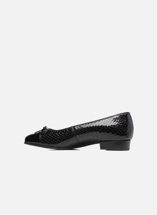 Ballerinas Ara Bari 43708 schwarz ansicht von vorne