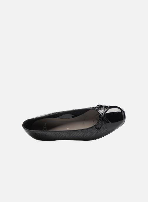 Ballerinas Ara Bari 43708 schwarz ansicht von links