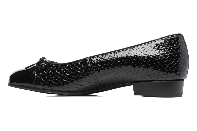 Ballerina's Ara Bari 43708 Zwart voorkant