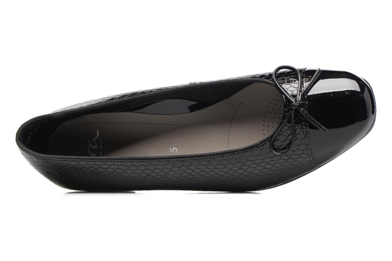 Ballerina's Ara Bari 43708 Zwart links