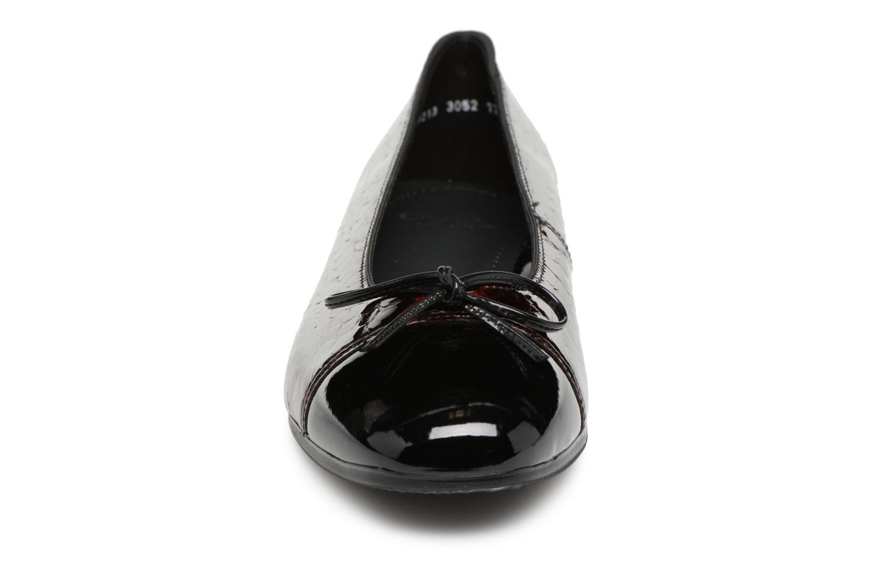 Ballerina Ara Bari 43708 Vinröd bild av skorna på