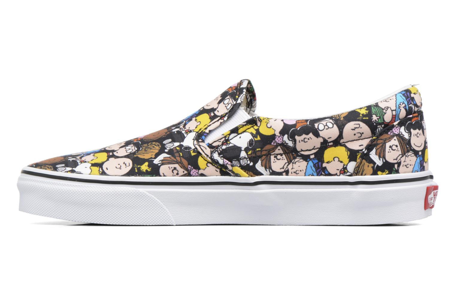 Baskets Vans Classic Slip On W x Peanuts Multicolore vue face