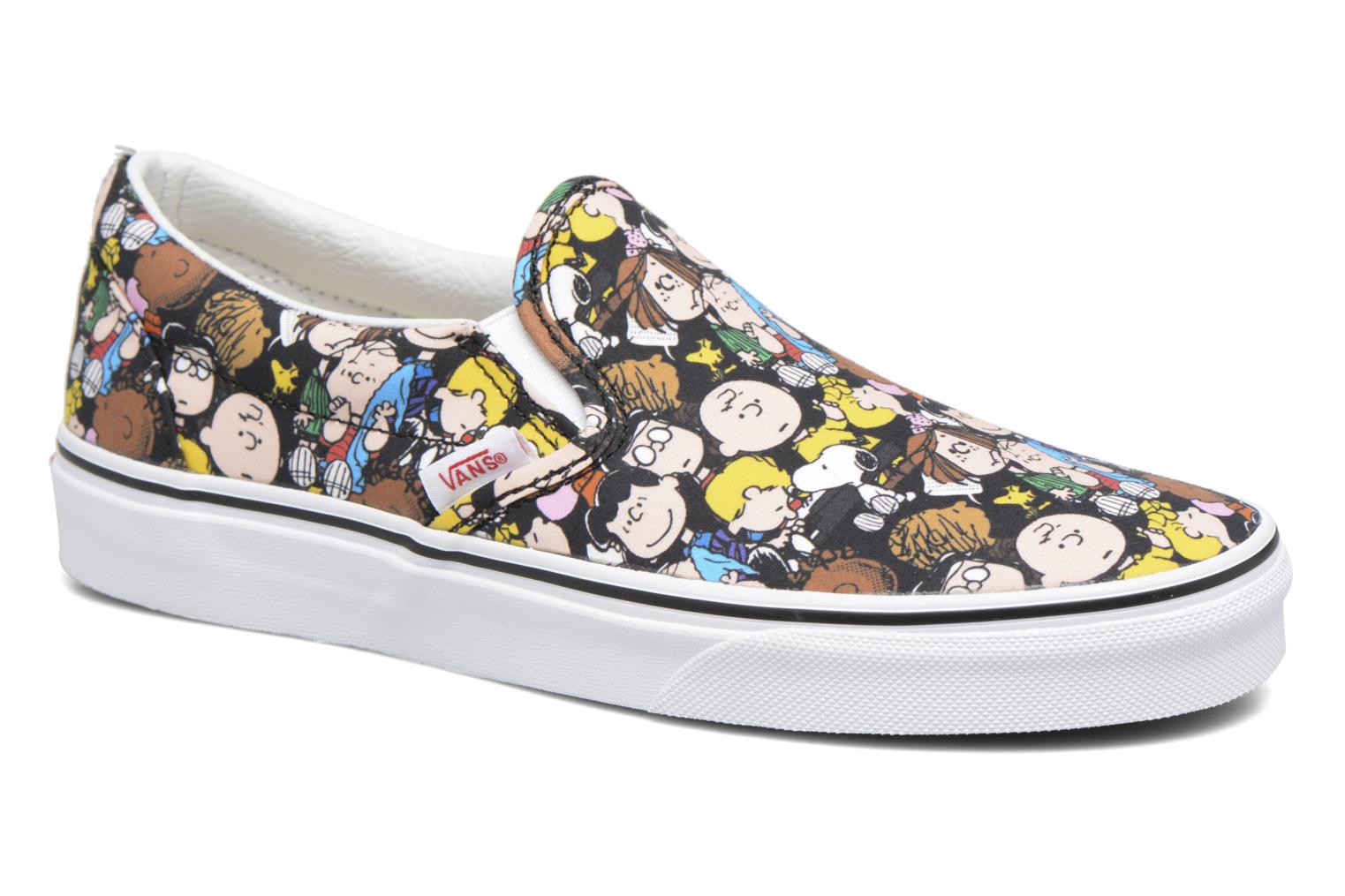 Baskets Vans Classic Slip On W x Peanuts Multicolore vue détail/paire