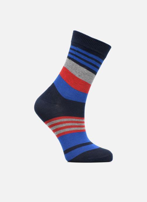 Socks & tights Falke Chaussettes Irregular Stripe Blue detailed view/ Pair view