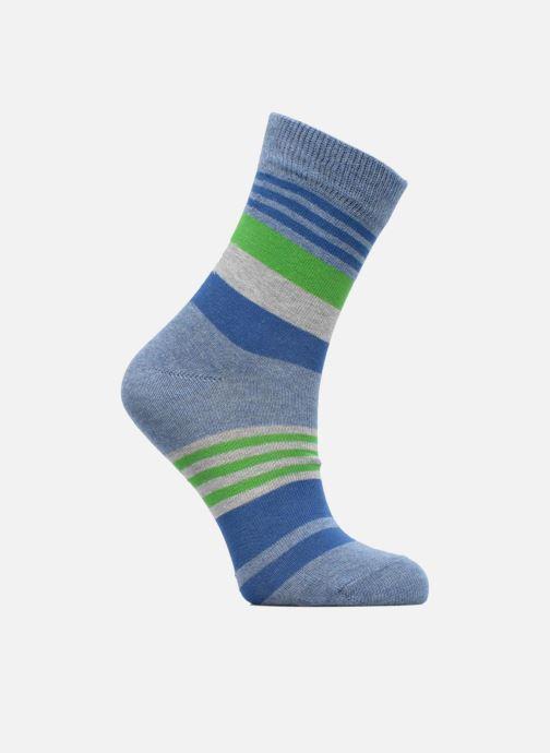 Chaussettes et collants Falke Chaussettes Irregular Stripe Bleu vue détail/paire