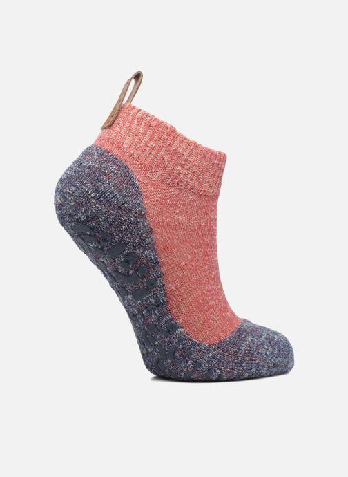 Chaussettes et collants Falke Chaussons-chaussettes Lodge Catspads Rouge vue détail/paire