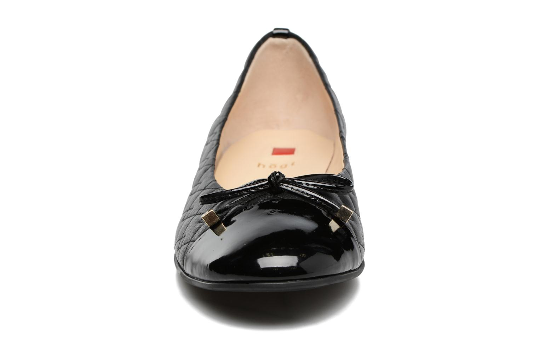Ballerines HÖGL Romane Noir vue portées chaussures