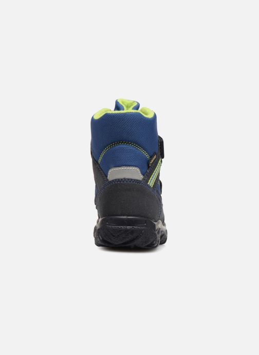 Ankle boots Superfit HUSKY1 GTX Blue view from the right