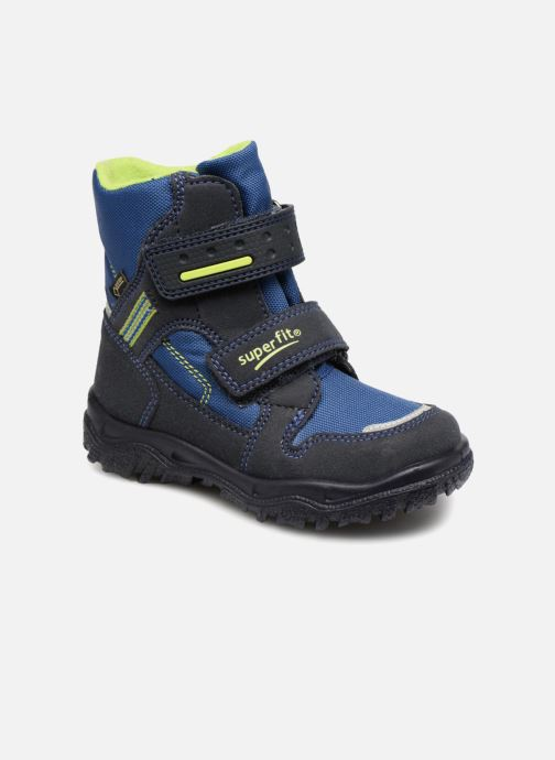 Ankle boots Superfit HUSKY1 GTX Blue detailed view/ Pair view
