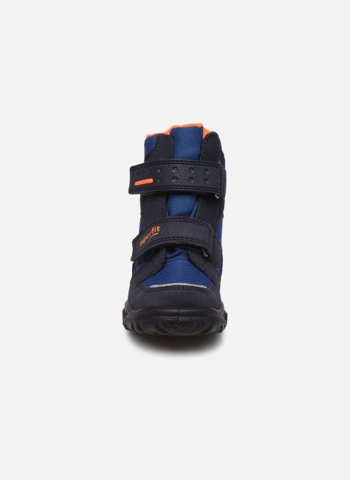 Bottines et boots Superfit HUSKY1 GTX Bleu vue portées chaussures