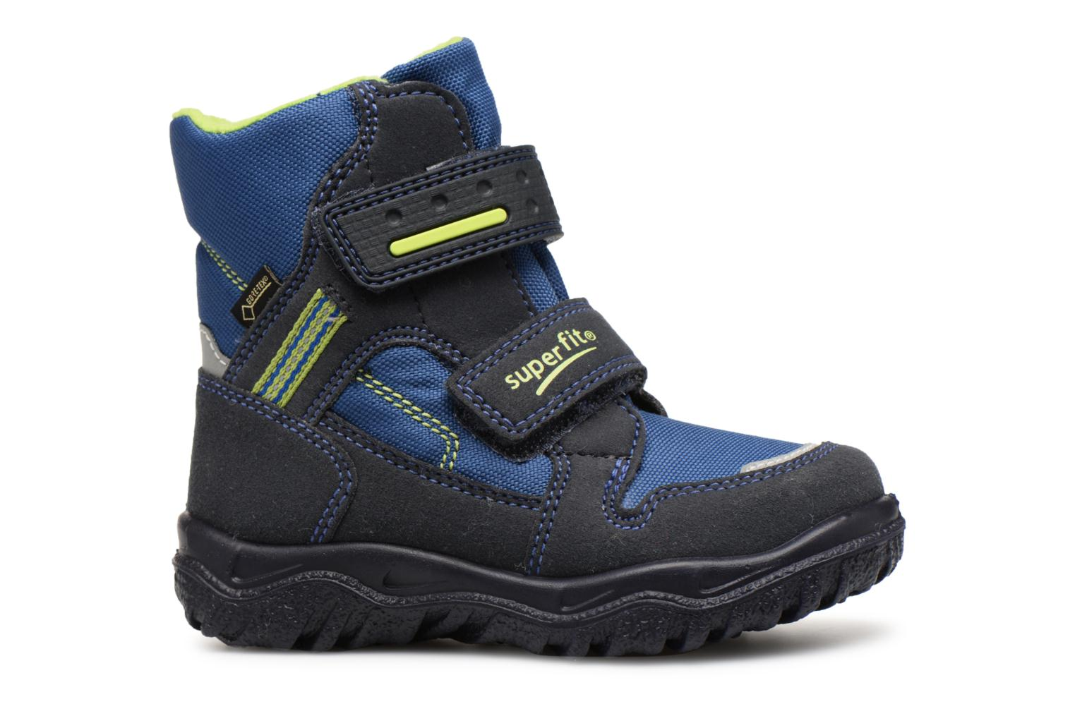 Ankle boots Superfit HUSKY1 GTX Blue back view