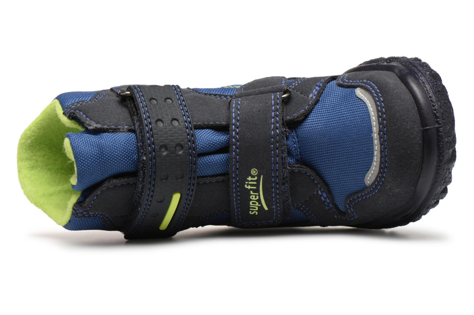 Ankle boots Superfit HUSKY1 GTX Blue view from the left