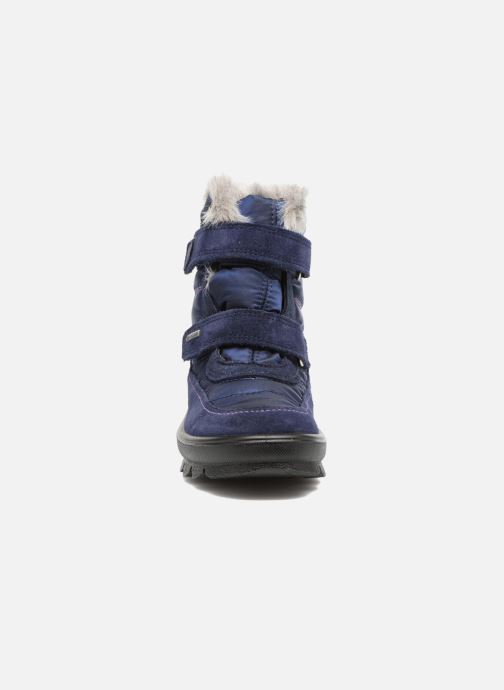 Chaussures de sport Superfit Flavia GTX Bleu vue portées chaussures